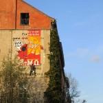 Wandplakat Manteuffelstraße, Hopp-Hopp-Hopp-Mietenstopp-Demo